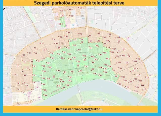 Uj Parkolasi Rend Szegeden